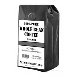 Generic Roasted Coffee Beans 2 LBS