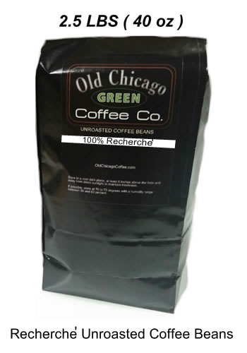 Recherche Unroasted Coffee Beans