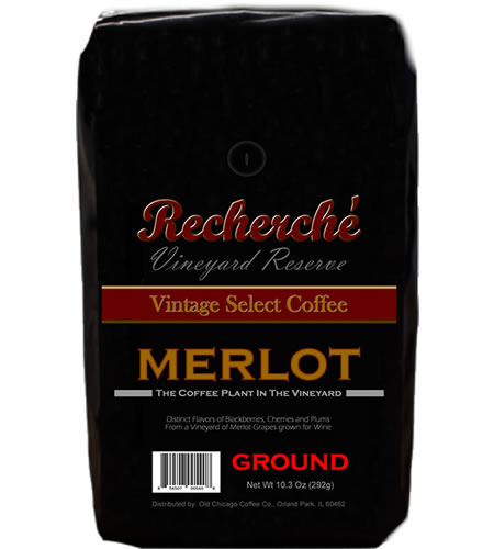 Recherche Merlot Wine Grape Vineyard Coffee